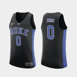 For Men Replica Black #0 College Basketball Wendell Moore Duke Jersey