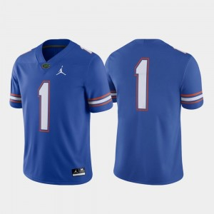 Men's Royal Game Florida Jersey Football Nike #1