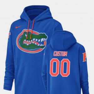 #00 For Men's Champ Drive Royal University of Florida Custom Hoodies Nike Football Performance
