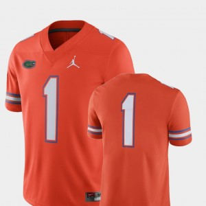 College Football Orange For Men's 2018 Game Jordan Brand Florida Jersey #1
