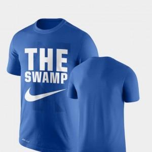 Men Performance Nike Legend Franchise Royal Florida T-Shirt