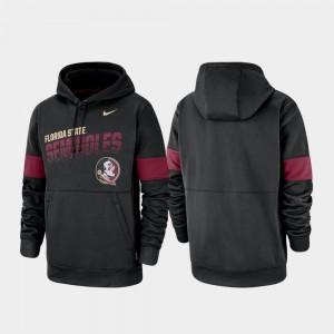 Performance FSU Hoodie Mens Pullover Nike Black
