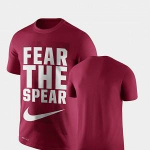 Legend Franchise Performance Nike Men's Garnet FSU Seminoles T-Shirt