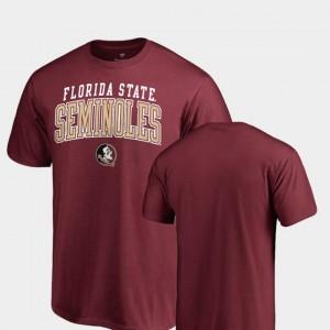 Garnet Seminoles T-Shirt Square Up Fanatics Branded Men