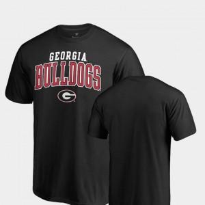 Black For Men's Square Up UGA Bulldogs T-Shirt Fanatics Branded