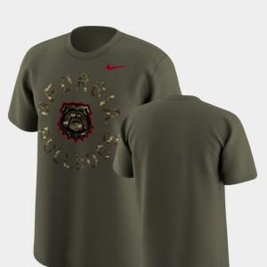Mens Nike Legend Camo UGA T-Shirt Olive