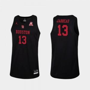Dejon Jarreau Cougars Jersey Replica Men #13 Black Jordan Brand College Basketball