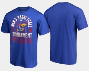 2018 Big 12 Champions Royal Basketball Conference Tournament Mens Jayhawks T-Shirt