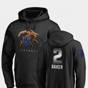 For Men's Midnight Mascot #2 Fanatics Branded Football Dorian Baker UK Hoodie Black