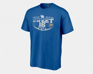 2018 March Madness Basketball Tournament Royal Wildcats T-Shirt For Men Sweet 16 Bound