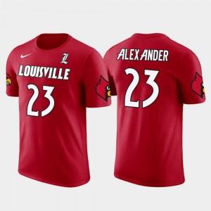 Red Jaire Alexander Louisville T-Shirt Green Bay Packers Football #23 Men's Future Stars