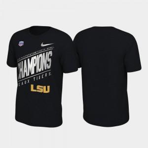 2019 Fiesta Bowl Champions Black Locker Room Nike Men's Tigers T-Shirt