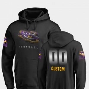#00 Midnight Mascot Black Tigers Custom Hoodies Fanatics Branded Football Men's