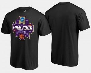 For Men's Basketball Tournament Final Four Paint March Madness T-Shirt Black
