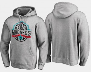 Gray March Madness Hoodie Basketball Tournament Final Four Tipoff Mens