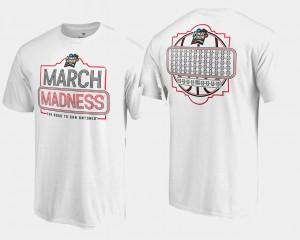 68 Team Ball March Madness T-Shirt Men White Basketball Tournament