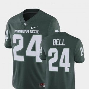 #24 Le'Veon Bell Michigan State Spartans Jersey Player Nike Green Alumni Football Game Mens