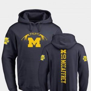College Football Fanatics Branded Backer Dylan McCaffrey University of Michigan Hoodie Navy #10 Mens