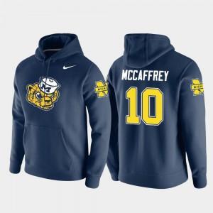 #10 Navy Dylan McCaffrey Michigan Hoodie Nike Pullover For Men Vault Logo Club