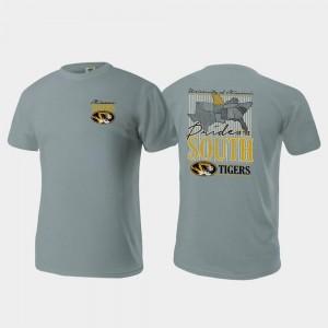 Missouri T-Shirt Comfort Colors Gray Pride of the South Men's