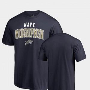 Navy Navy Midshipmen T-Shirt Square Up For Men Fanatics Branded