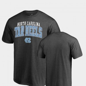 UNC T-Shirt Square Up For Men Fanatics Branded Heathered Charcoal