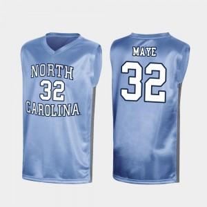 Special College Basketball #32 For Men's Royal Luke Maye University of North Carolina Jersey March Madness