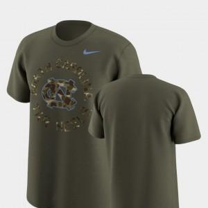 Olive Legend Camo North Carolina T-Shirt Mens Nike