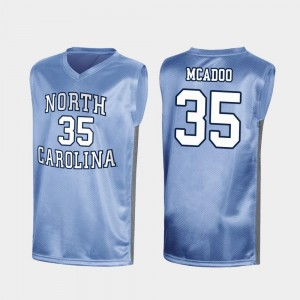 Royal Special College Basketball March Madness #35 Ryan McAdoo Tar Heels Jersey For Men's