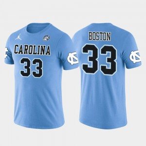 #33 Arizona Cardinals Football Future Stars Light Blue Men's Tre Boston North Carolina T-Shirt