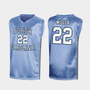Walker Miller University of North Carolina Jersey #22 Royal March Madness Mens Special College Basketball