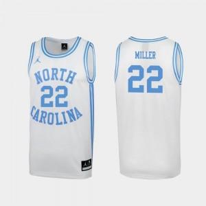 Walker Miller North Carolina Tar Heels Jersey Special College Basketball White #22 Men March Madness