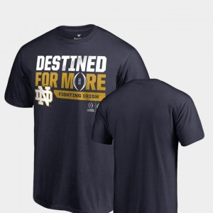 2018 Cotton Bowl Bound Bootleg College Football Playoff Navy University of Notre Dame T-Shirt Mens