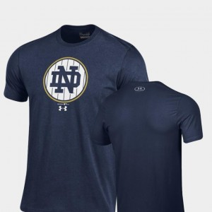 Pinstripe Charged Cotton Under Armour Men's UND T-Shirt 2018 Shamrock Series Navy