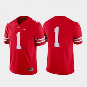 Scarlet Mens Game #1 College Football Nike Ohio State Jersey