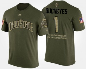 OSU T-Shirt No.1 Short Sleeve With Message #1 Men Military Camo