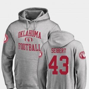 Ash #43 For Men Fanatics Branded College Football Austin Seibert Oklahoma Sooners Hoodie Neutral Zone