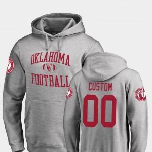 Fanatics Branded College Football For Men #00 Neutral Zone OU Custom Hoodie Ash