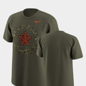 Cowboys T-Shirt Olive Legend Camo Mens Nike