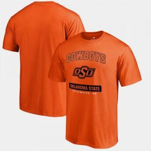OSU Cowboys T-Shirt Campus Icon Big & Tall Orange For Men's