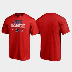 Red Rebels T-Shirt March Madness 2019 NCAA Basketball Tournament Big Dance Men