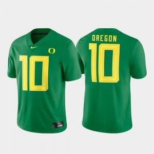 UO Jersey Men's #10 Game Football Green