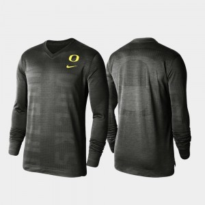 Football Sideline Charcoal For Men's Fuse 360 Player Long Sleeve UO T-Shirt