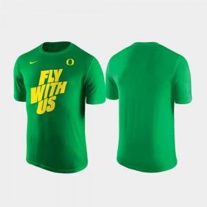 Men Shooting Green UO T-Shirt Nike Local Legend