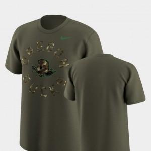 Nike Mens Olive Legend Camo Oregon Ducks T-Shirt