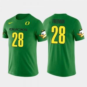 Denver Broncos Football Future Stars Royce Freeman UO T-Shirt #28 For Men Green