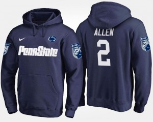 #2 Navy Name and Number For Men Marcus Allen Penn State Hoodie