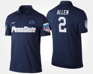 #2 Marcus Allen PSU Polo Men's Navy Bowl Game Fiesta Bowl Name and Number