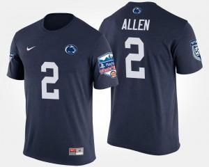 Fiesta Bowl Navy Bowl Game Men #2 Marcus Allen Penn State T-Shirt