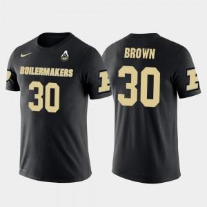 Black Men #30 Dallas Cowboys Football Anthony Brown Purdue T-Shirt Future Stars